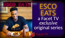 Esco Eats, the cooking show with just enough spice, exclusive to Facet TV